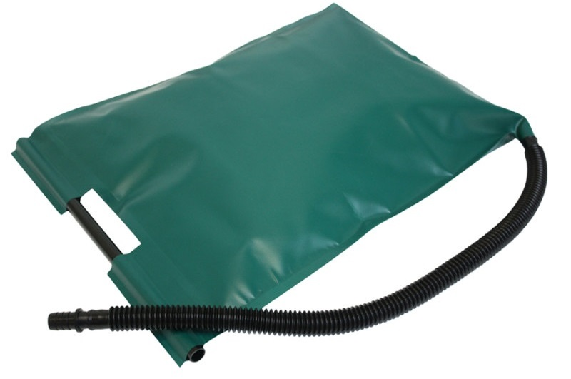 Augment bags for easy distribution of augmentation material