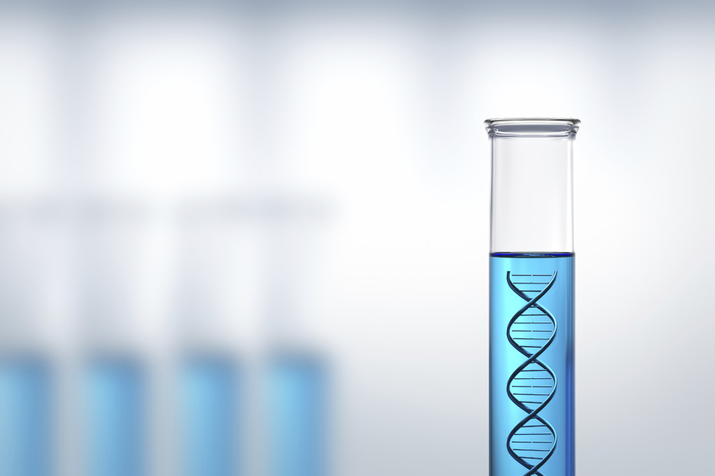 qPCR analyse samples to determine dechlorinating bacteria